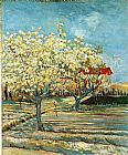Vincent van Gogh Orchard in Blossom 2 painting