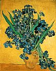 Vincent van Gogh Still Life with Iris painting