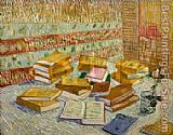 Vincent van Gogh Still life with books painting