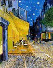 Vincent van Gogh The Cafe Terrace painting