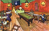 Vincent van Gogh The Night Cafe in the Place Lamartine in Arles painting