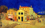 building paintings - The Yellow House by Vincent van Gogh
