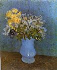 Vincent van Gogh Vase with Lilacs Daisies and Anemomes painting