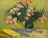 Vincent van Gogh Vase with Oleanders and Books painting