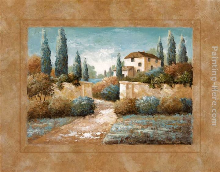Vivian flasch tuscan blue ii painting best paintings for for Famous prints for sale