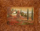 Vivian Flasch Fields of Tuscany I painting