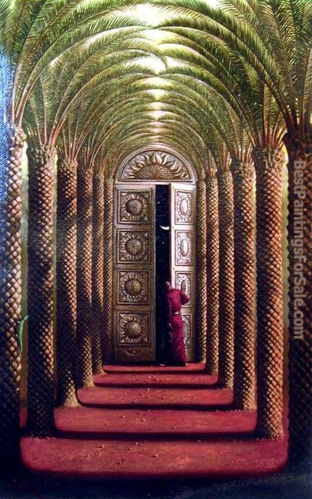 Vladimir Kush Doors Of The Night Painting Best Paintings