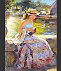 Vladimir Volegov Sunday in the Park painting