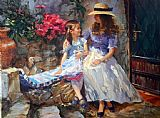 Vladimir Volegov The Sweetest Moment painting
