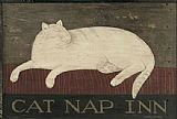 Warren Kimble Cat Nap Inn painting