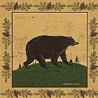 Warren Kimble Folk Bear painting