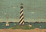 Warren Kimble Lighthouse II painting
