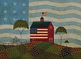Warren Kimble The American Farm painting