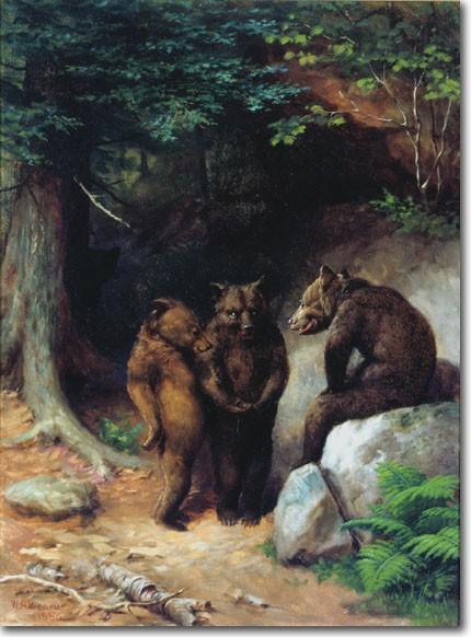William Beard Dancing Bears Painting Best Paintings For Sale