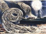 William Blake The Lovers' Whirlwind illustrates Hell in Canto V of Dante's Inferno painting