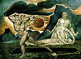 William Blake the Body of Abel Found by Adam and Eve painting
