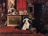 William Merritt Chase Interior of the Artist's Studio aka the Tenth Street Studio painting