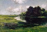 William Merritt Chase Long Island Landscape after a Shower of Rain painting