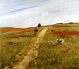 William Merritt Chase Shinnecock Hills, Autumn painting