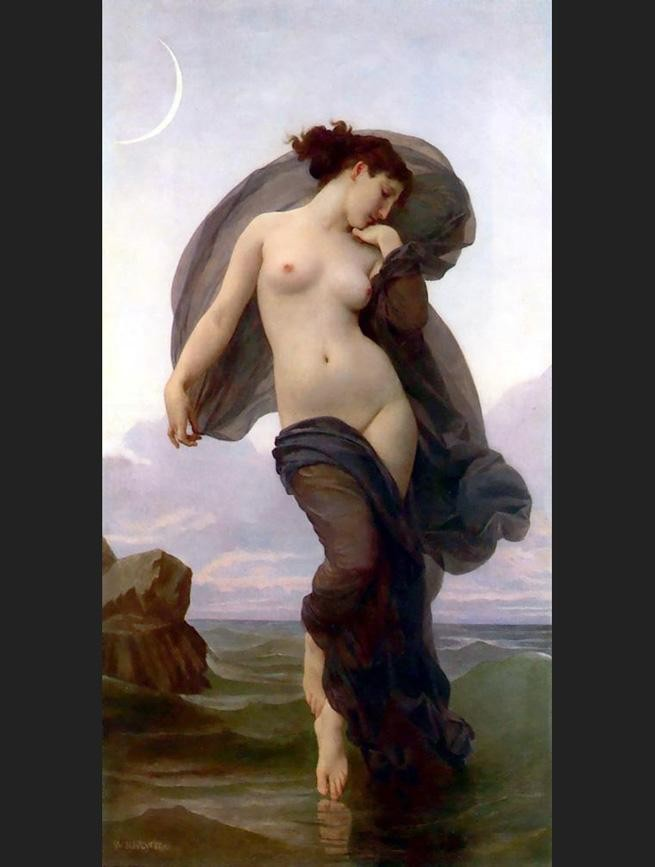 William Bouguereau Evening Mood