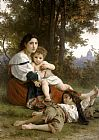 William Bouguereau Rest painting