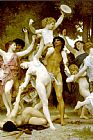William Bouguereau The Youth of Bacchus detail1 painting