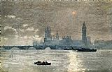 Winslow Homer The Houses of Parliament painting