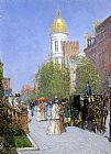 childe hassam A Spring Morning painting