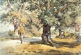 childe hassam Wayside Inn Sudbury Massachusetts painting