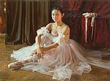 Guan zeju Beautiful life painting