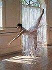 Ballet paintings - Under the sunshine by Guan zeju