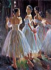 Ballet paintings - gzj15 by Guan zeju