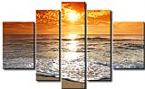 Sunset paintings - 890 by landscape