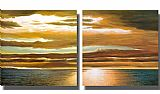 landscape Dan Werner Reflections on the Sea painting