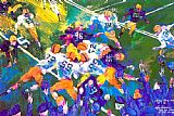 Leroy Neiman Defending Victory 1946 painting