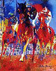Leroy Neiman Kentucky Racing painting