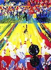 Leroy Neiman Million Dollar Strike painting