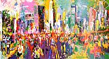 Leroy Neiman New York Marathon painting