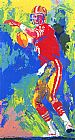 Leroy Neiman Quarterback of the 80's painting