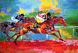 Leroy Neiman Race of the Year painting