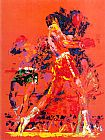 Leroy Neiman Red Boxers painting