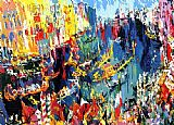 Leroy Neiman Regatta of the Gondoliers painting