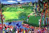 Leroy Neiman Ryder Cup Valhalla 2008 painting
