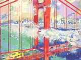 Leroy Neiman San Francisco painting