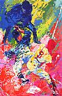 Leroy Neiman Sliding Home painting