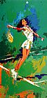Leroy Neiman Sweet Serve painting