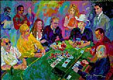Leroy Neiman The Game painting