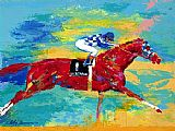Leroy Neiman The Great Secretariat painting