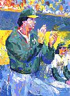 Leroy Neiman Tony LaRussa Manager of the Year painting