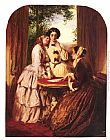 Abraham Solomon Doubtful Fortune painting